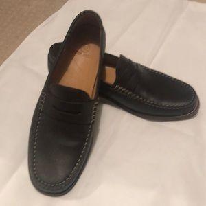 NWOT Austen Heller Brown Leather Driving Loafer